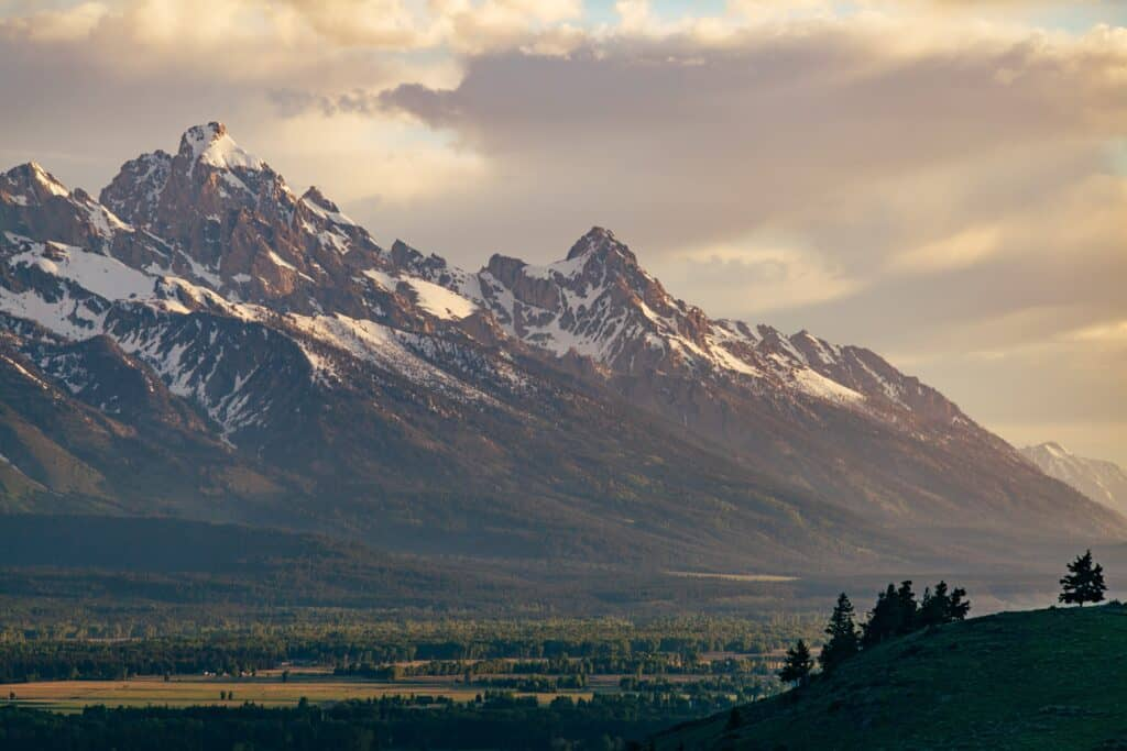 Wyoming mountain range