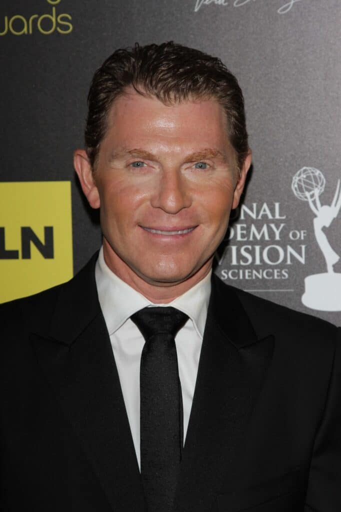 Bobby Flay at an awards ceremony