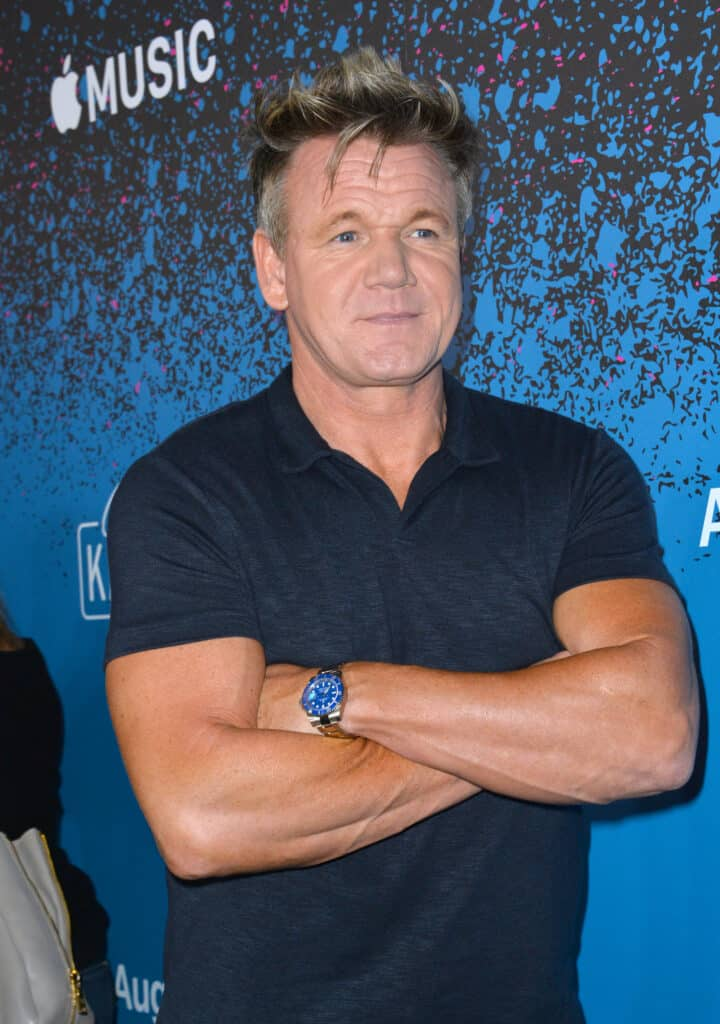 Gordon Ramsay at event