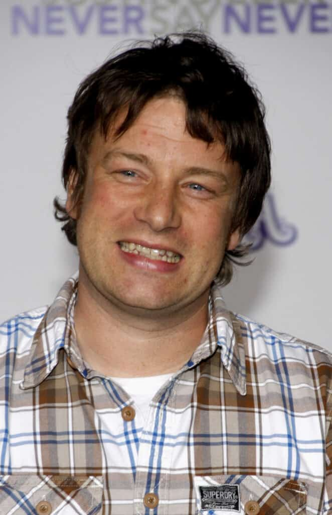 Jamie Oliver at event