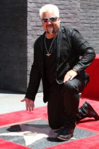 Guy Fieri at the Guy Fieri Star Ceremony on the Hollywood Walk of Fame on May 22, 2019 in Los Angeles, CA