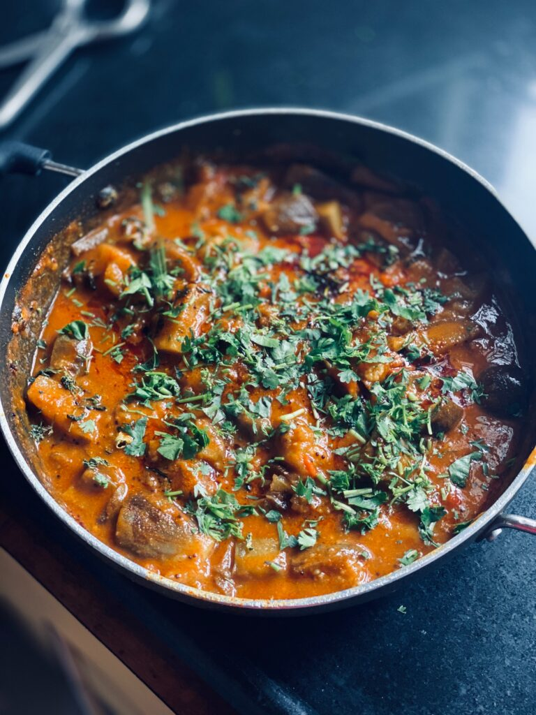 Bowl of Indian Curry