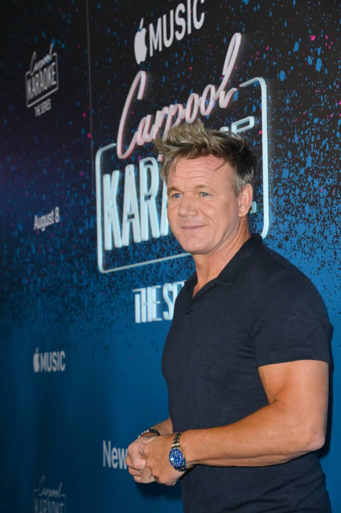 Portrait of Gordon Ramsay at an awards event