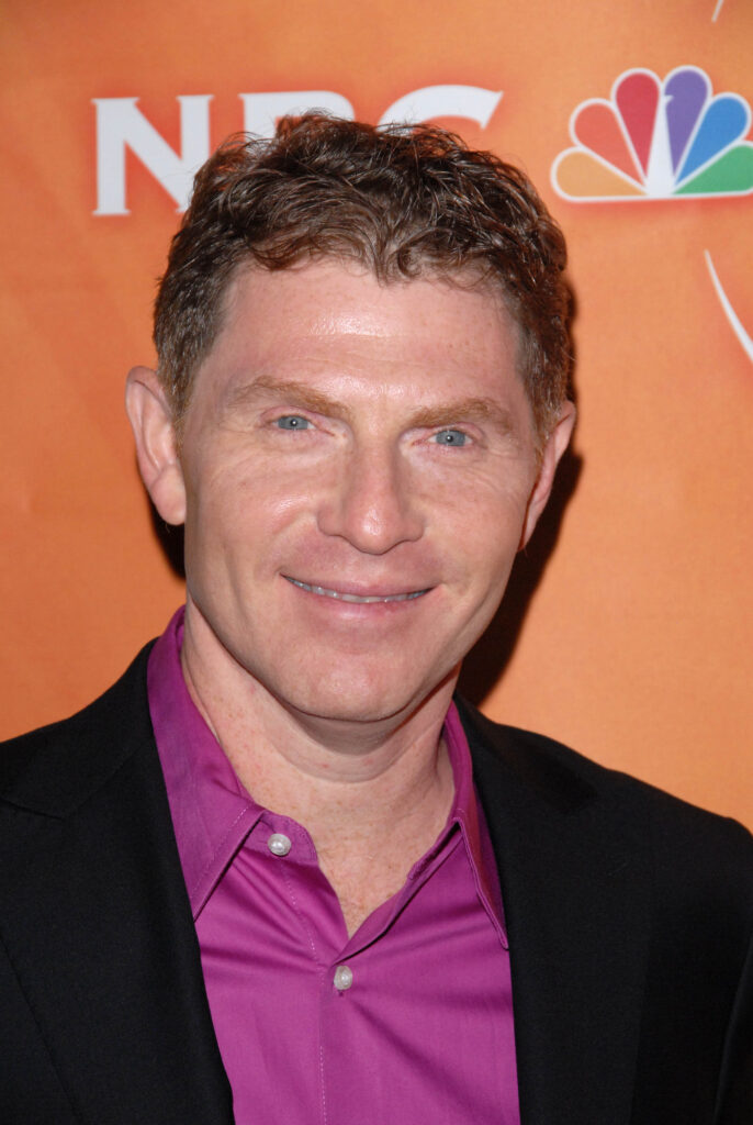 Portrait of Bobby Flay at an event