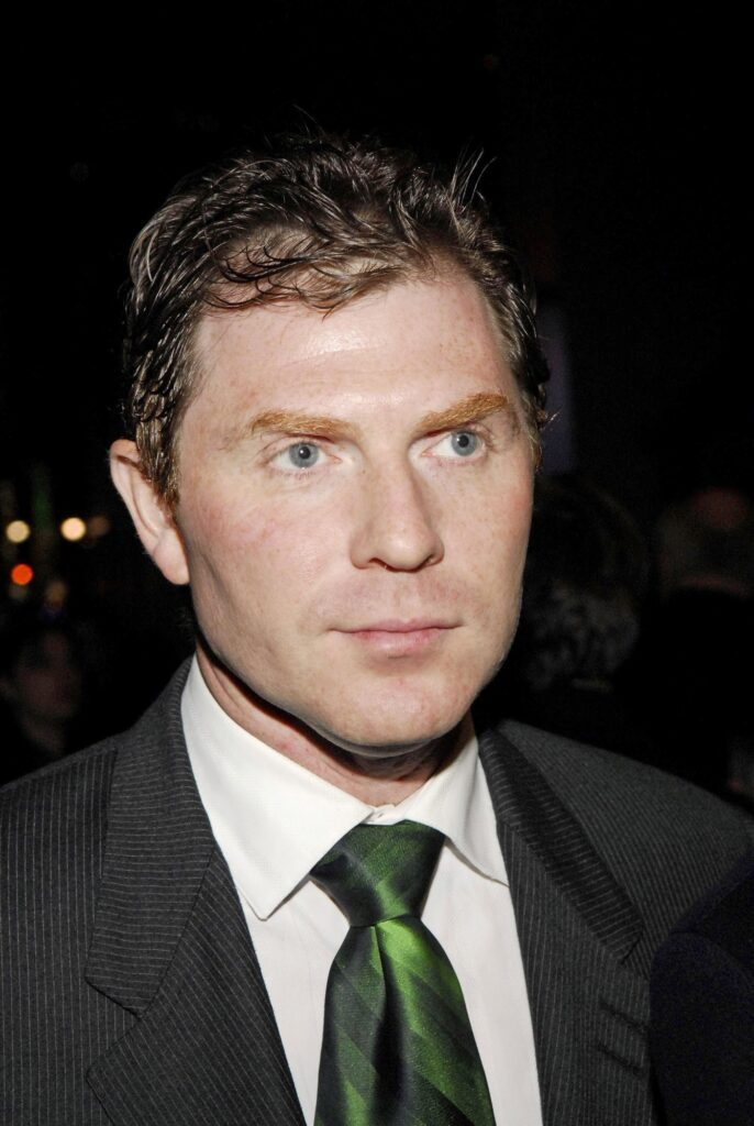 Portrait of Bobby Flay at red carpet event