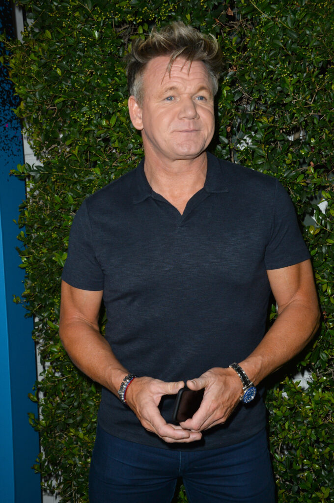 Portrait of Gordon Ramsay at an event